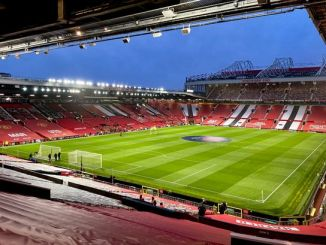 A picture of Old Trafford, home for English Football Club - Manchester United