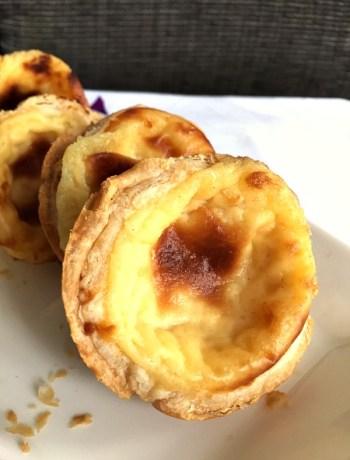 Portuguese Pastéis de nata recipe (Portuguese custard tarts)
