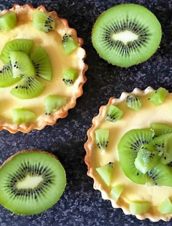 Kiwi custard tart recipe