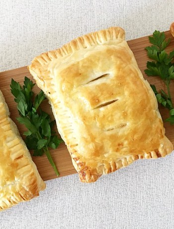 Potato cheese onion pasty recipe