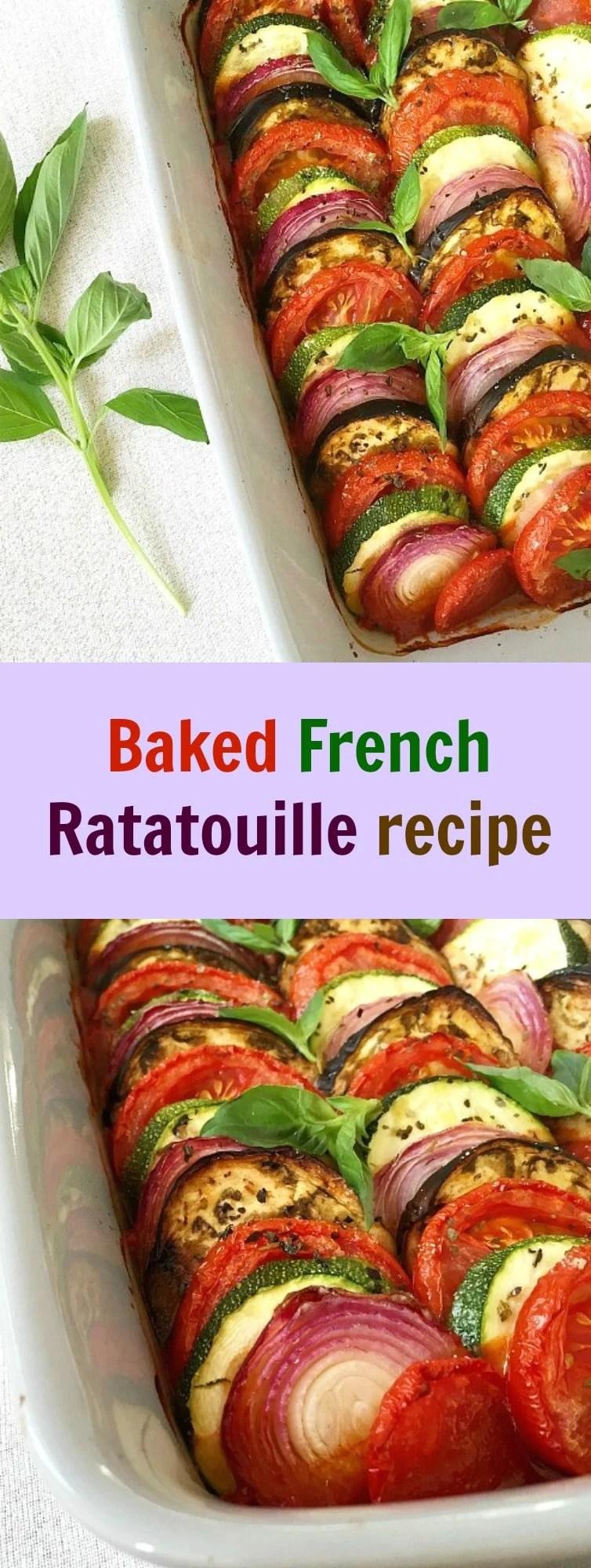 Baked French Ratatouille recipe