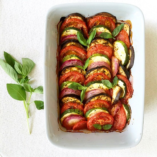 Oven baked Ratatouille recipe