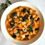 Butternut squash and sweet potato stew