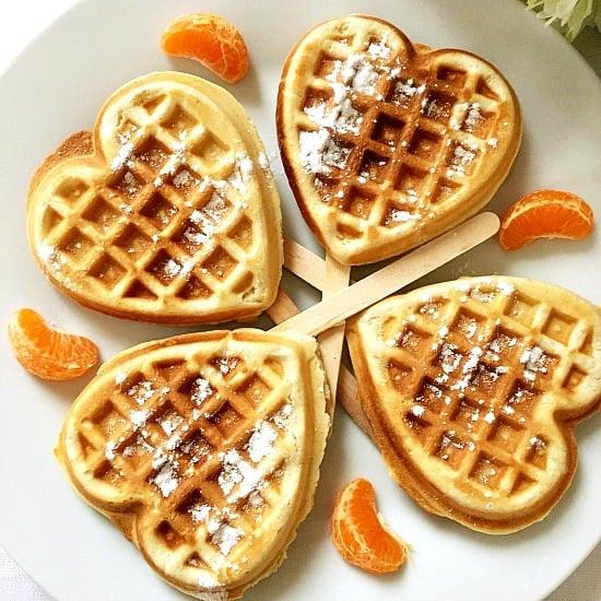 Vanilla & cinnamon waffles