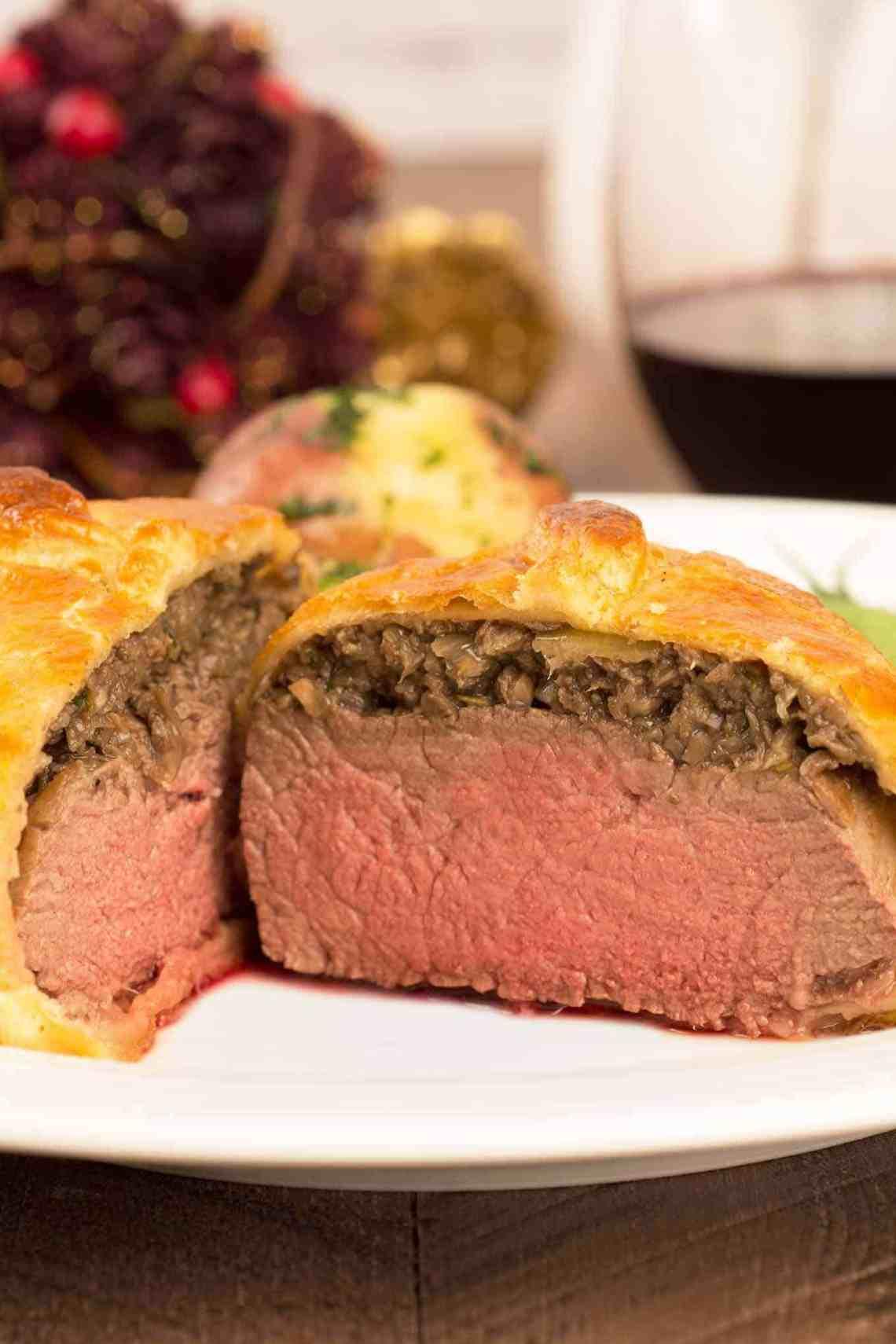 Individual Beef Wellington Recipe   MyGourmetConnection