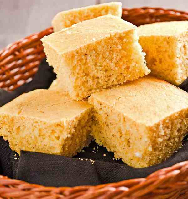 Simple Corn Bread MyGourmetConnection