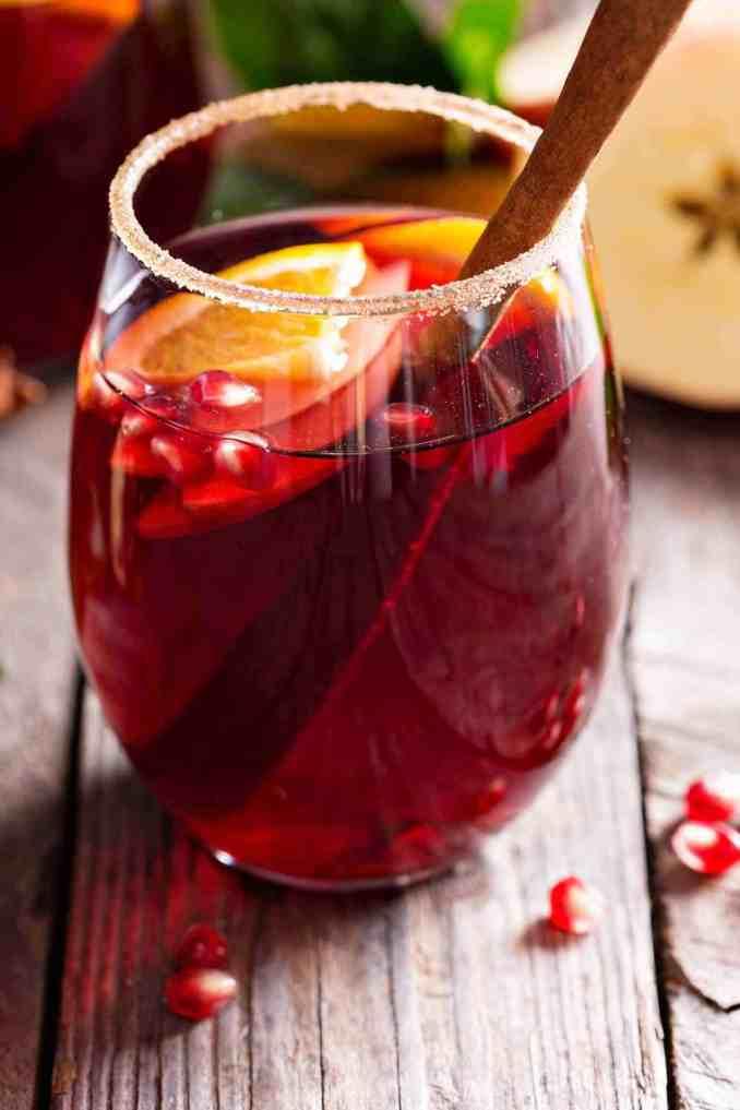 Winter Spice Sangria Recipe | MyGourmetConnection