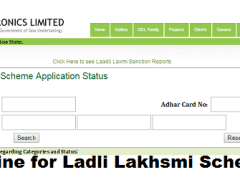 Ladli Laxmi Scheme Goa
