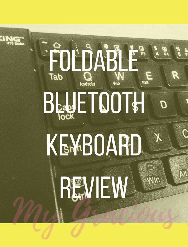 CD-R King Foldable Bluetooth Keyboard Review