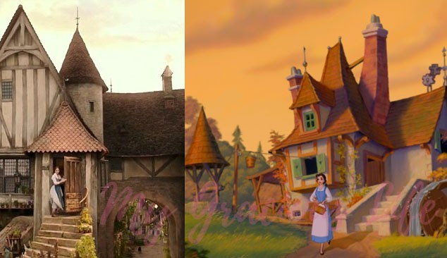 Belle's town from beauty and the beast