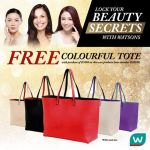 FREE Watsons Colorful Tote Bag Giveaway!
