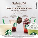 Starbucks Offer Buy 1 FREE 1 Promo!