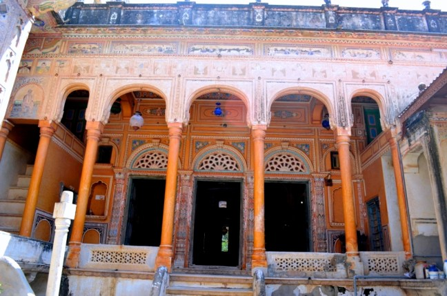 First look from inside .. Sneh Ram Lada Haveli
