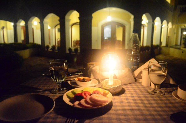 Candle Light Dinner at The Hans Coco Palm