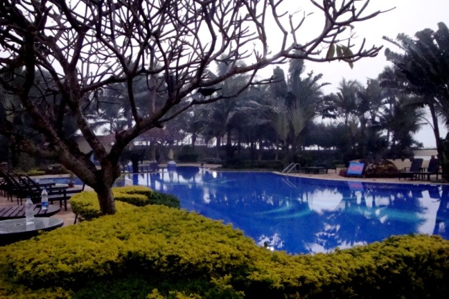 Swimming pool at The Hans Coco Palm