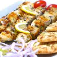 Greek Chicken Souvlaki recipe (Skewers) with Tzatziki