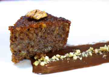 Karidopita (Greek Walnut Cake with Syrup)-1