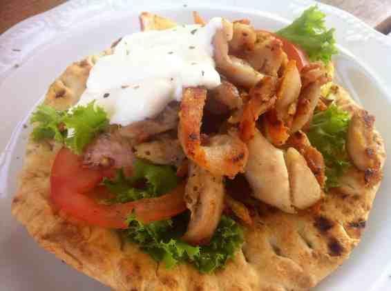 Homemade Chicken Gyros
