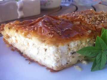 Traditional Tiropita Recipe Greek Cheese Pie With Feta My Greek Dish
