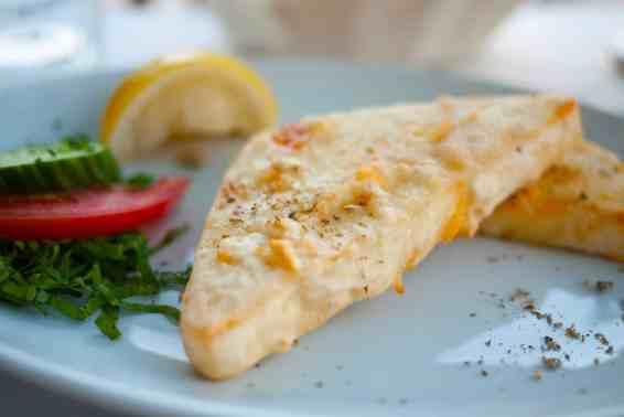Saganaki recipe (Pan-seared Greek cheese appetizer)