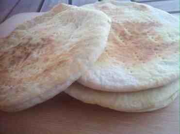 The most easy homemade Pita Bread