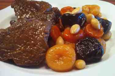 Amazing Christmas Veal with Fruit & Nut-6