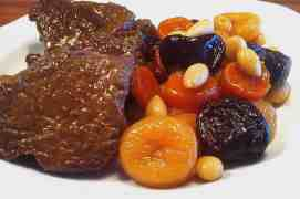 Amazing Christmas Veal with Fruit & Nut-8