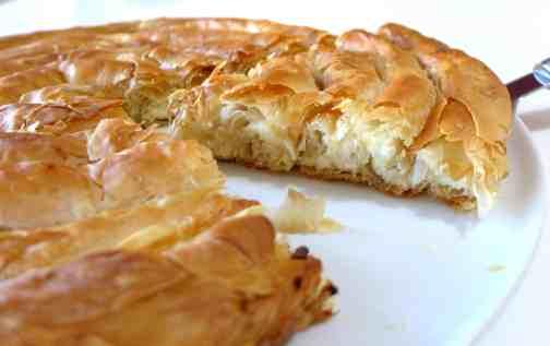 Greek cheese pie (Kichi Kozanis)-2