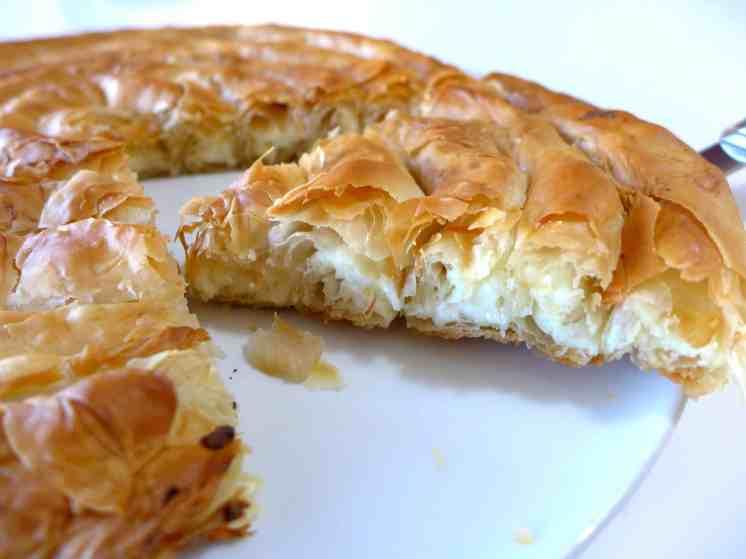 Greek cheese pie recipe (Kichi Kozanis)-5
