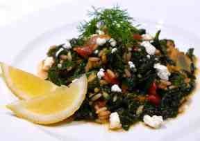 Spanakorizo recipe (Greek spinach rice)-2