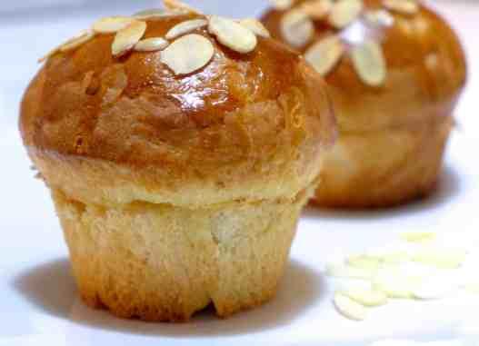 Tsoureki Muffins