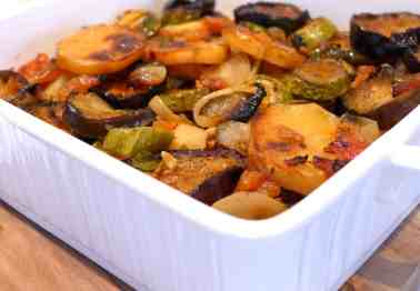 Briam recipe (Greek mixed Roasted Vegetables)-3