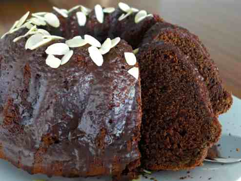 Lenten Chocolate sponge Cake