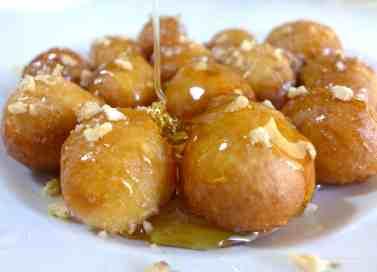 Delicious Lenten Greek Honey puffs recipe (Loukoumades)-2