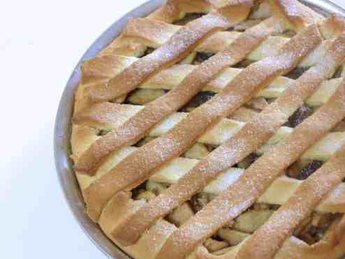 Lenten Apple pie (Milopita)-3
