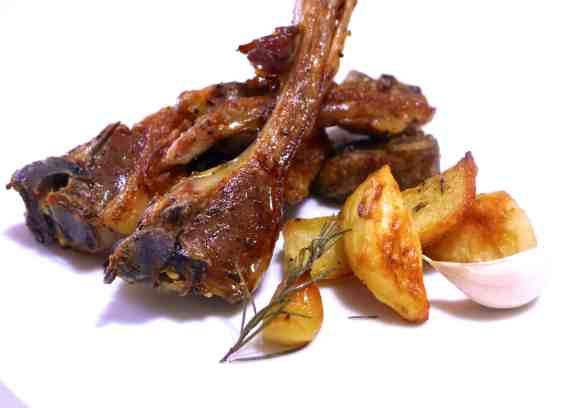 Greek Lamb chops (Paidakia)