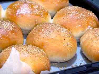 Best homemade Hamburger Buns recipe