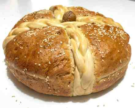 Christopsomo recipe (Greek Christmas Bread)