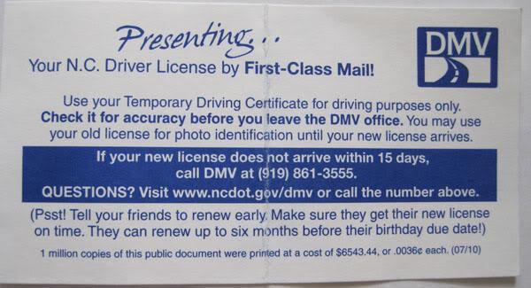 DMV-NC-3