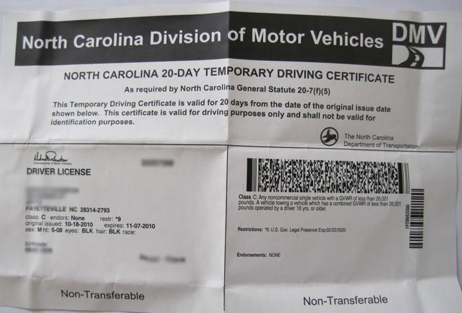 DMV-NC-Temp