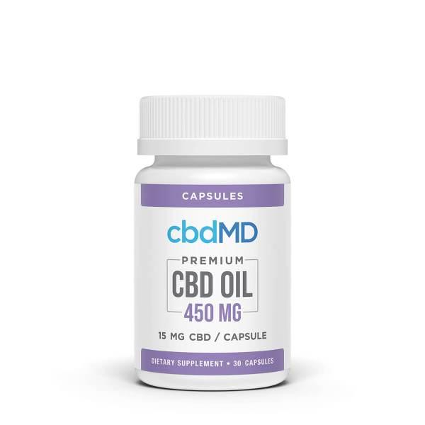 cbdMD 450 mg capsules