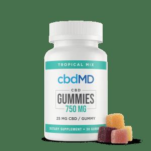 cbdMG 750 mg gummies