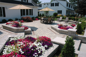 5 Beautiful Unilock Patio Designs For Your Landscape on My Patio Design id=55956