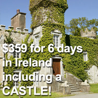 spend 5 nights in ireland for $359