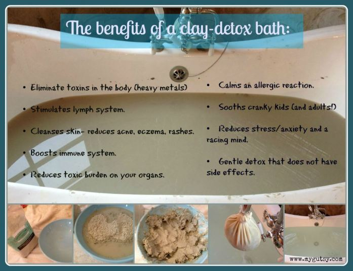 How to Detox with a clay bath