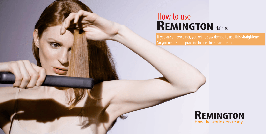 How to use Remington S9520