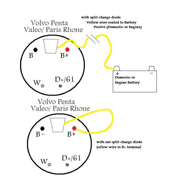 motorola marine alternator wiring diagram hyster belt