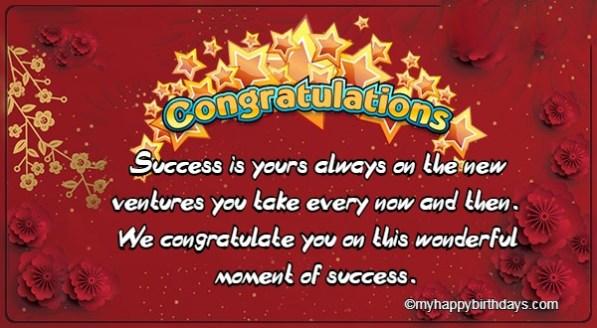70+Best Congratulation Messages Collection ~ My Happy Birthdays
