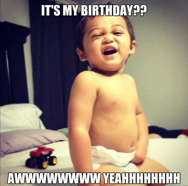 cute funny happy birthday pictures meme
