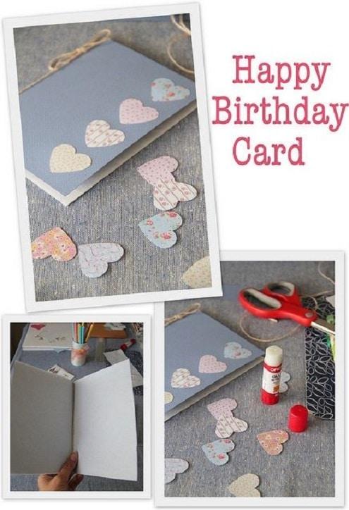 Homemade birthday card ideas instructions